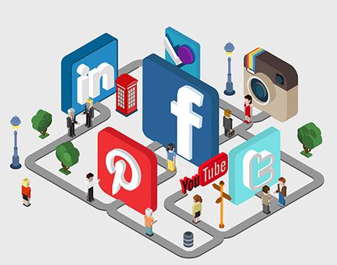Social Media Marketing Agency for Instagram Twitter Facebook Linkedin Pinterest