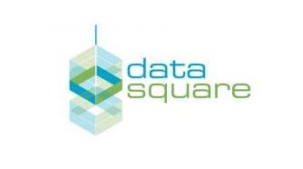 data square logo design