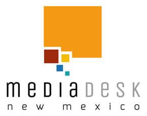 media desk new mexico logo design example