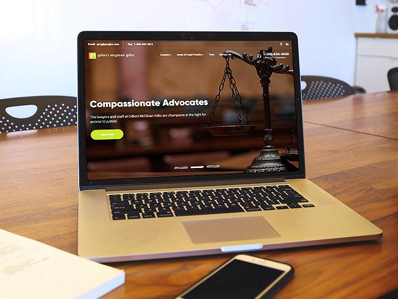 law firm web design wordpress canada